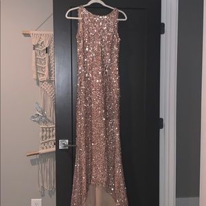 Adrianna Papell pow to high sequin dress